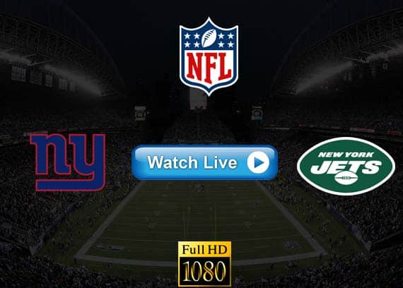 Giants vs Jets live streaming reddit