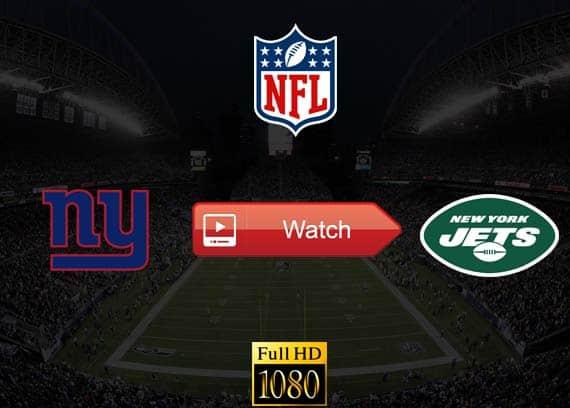 Giants vs Jets live stream reddit
