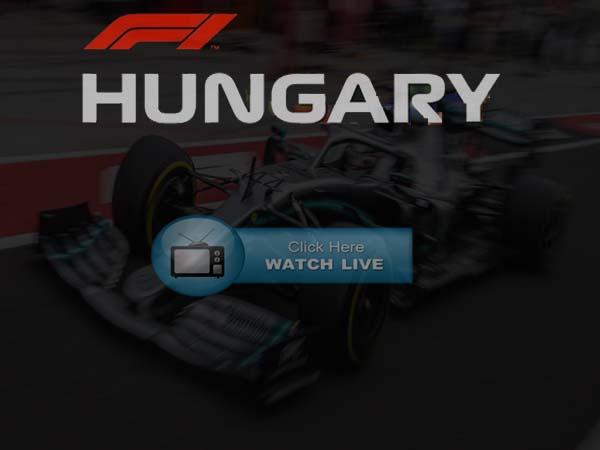 Hungarian Grand Prix Live streaming