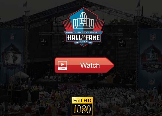 NFL Hall of Fame Ceremony live stream reddit