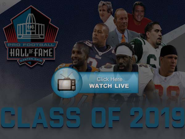 Hall of Fame Induction Ceremony Live Stream