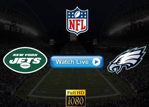 Jets vs Eagles live streaming reddit