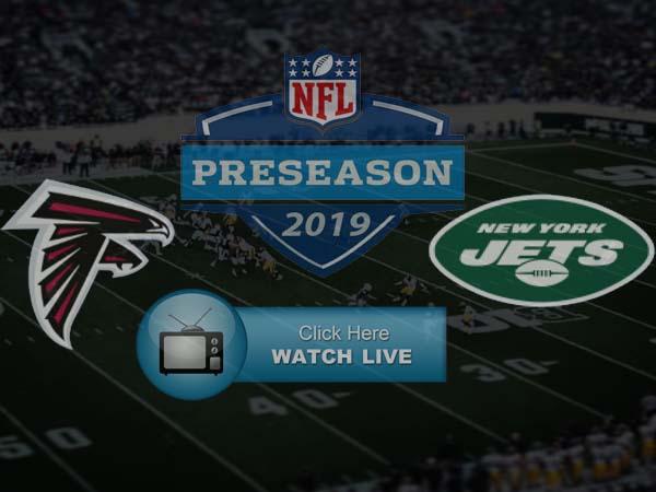 New York Jets vs Atlanta Falcons Live Stream