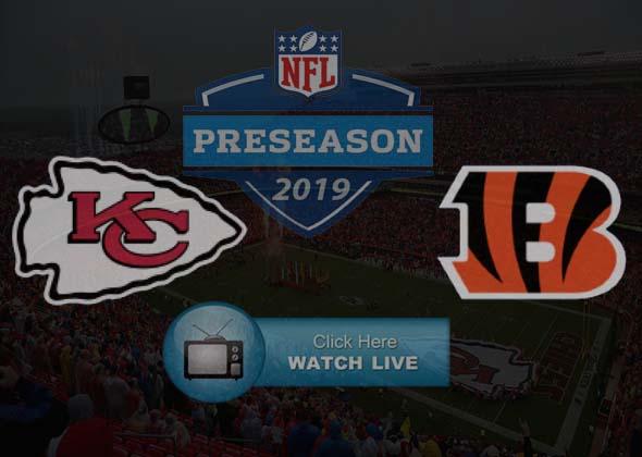 Chiefs vs Bengals Live Stream Online