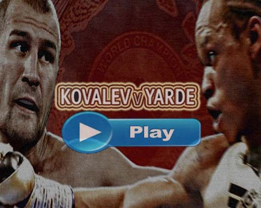 Kovalev vs Yarde Live Stream