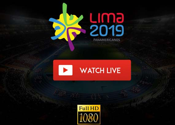 Lima Pan American Games live stream TV channels