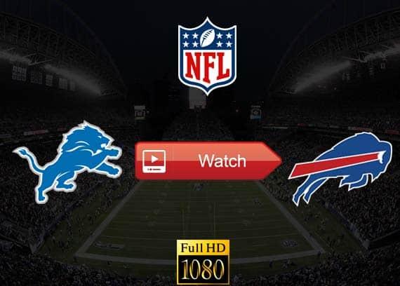 Lions vs Bills live stream reddit