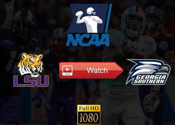 LSU vs Georgia Southern live streaming