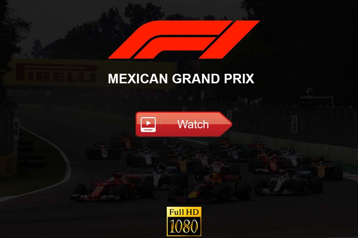 Mexican Grand Prix live stream reddit