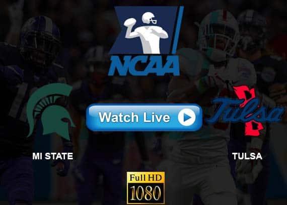 MI State vs Tulsa live streaming reddit