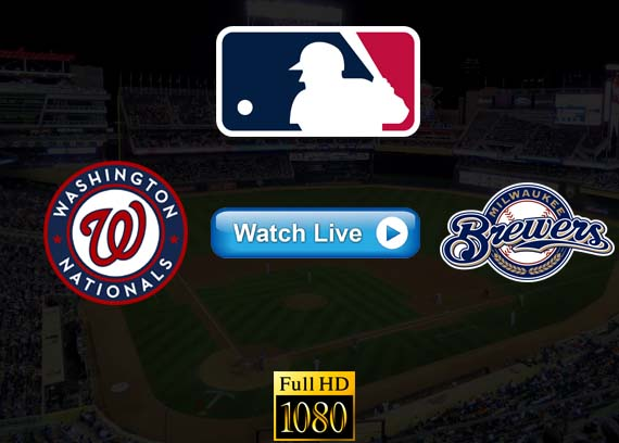 Nationals vs Brewers live streaming reddit