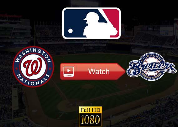 Nationals vs Brewers live stream reddit