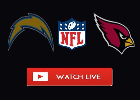 Los Angeles Chargers vs Arizona Cardinals Live Stream