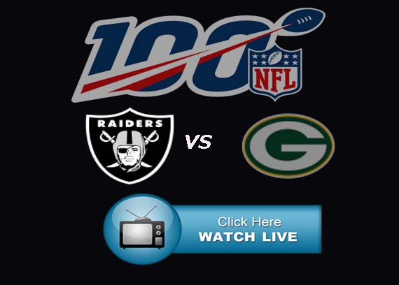 Packers vs Raiders Live Stream