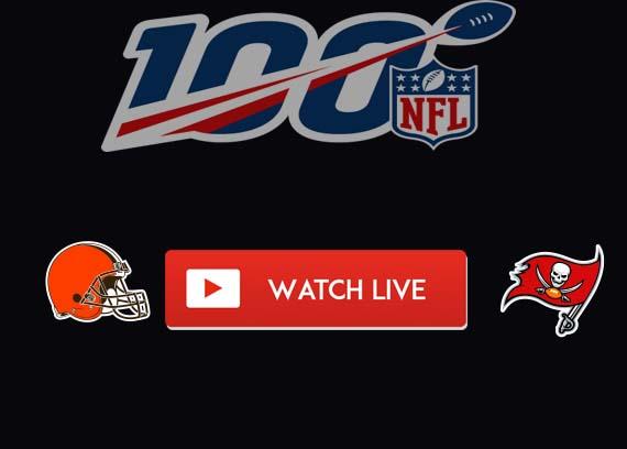 Browns vs Buccaneers Live Stream