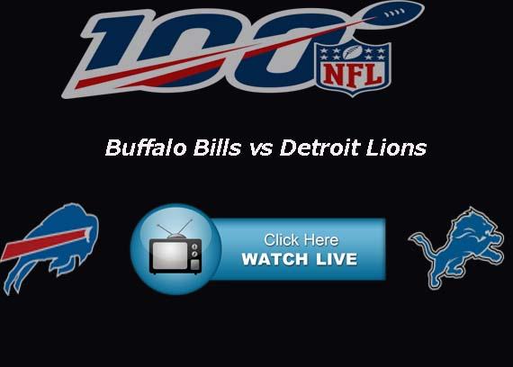 Lions vs Bills Live Stream