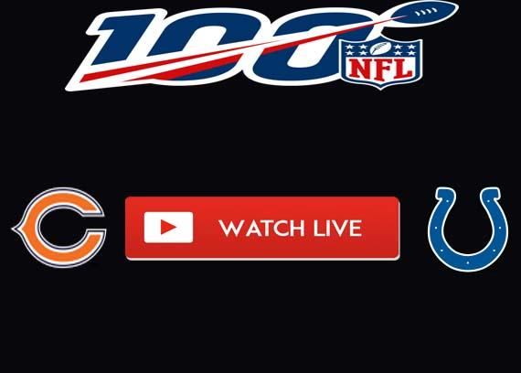 Bears vs. Colts Preseason Live Stream