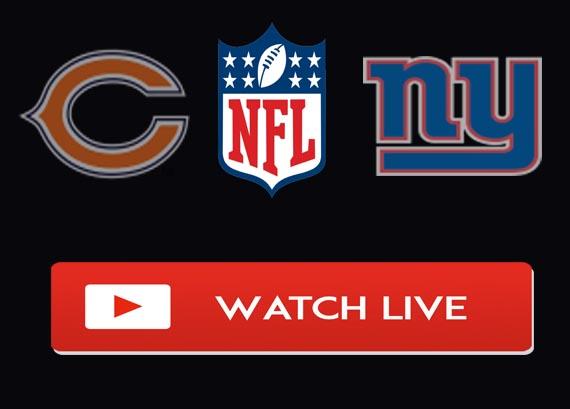 Giants vs Bears Live Stream