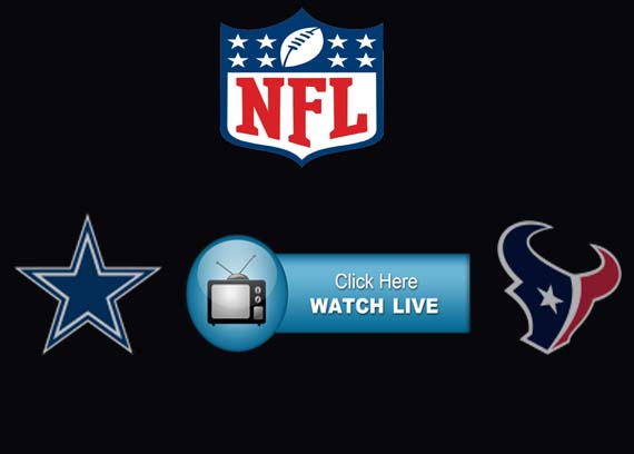 Cowboys vs Texans Live Streaming
