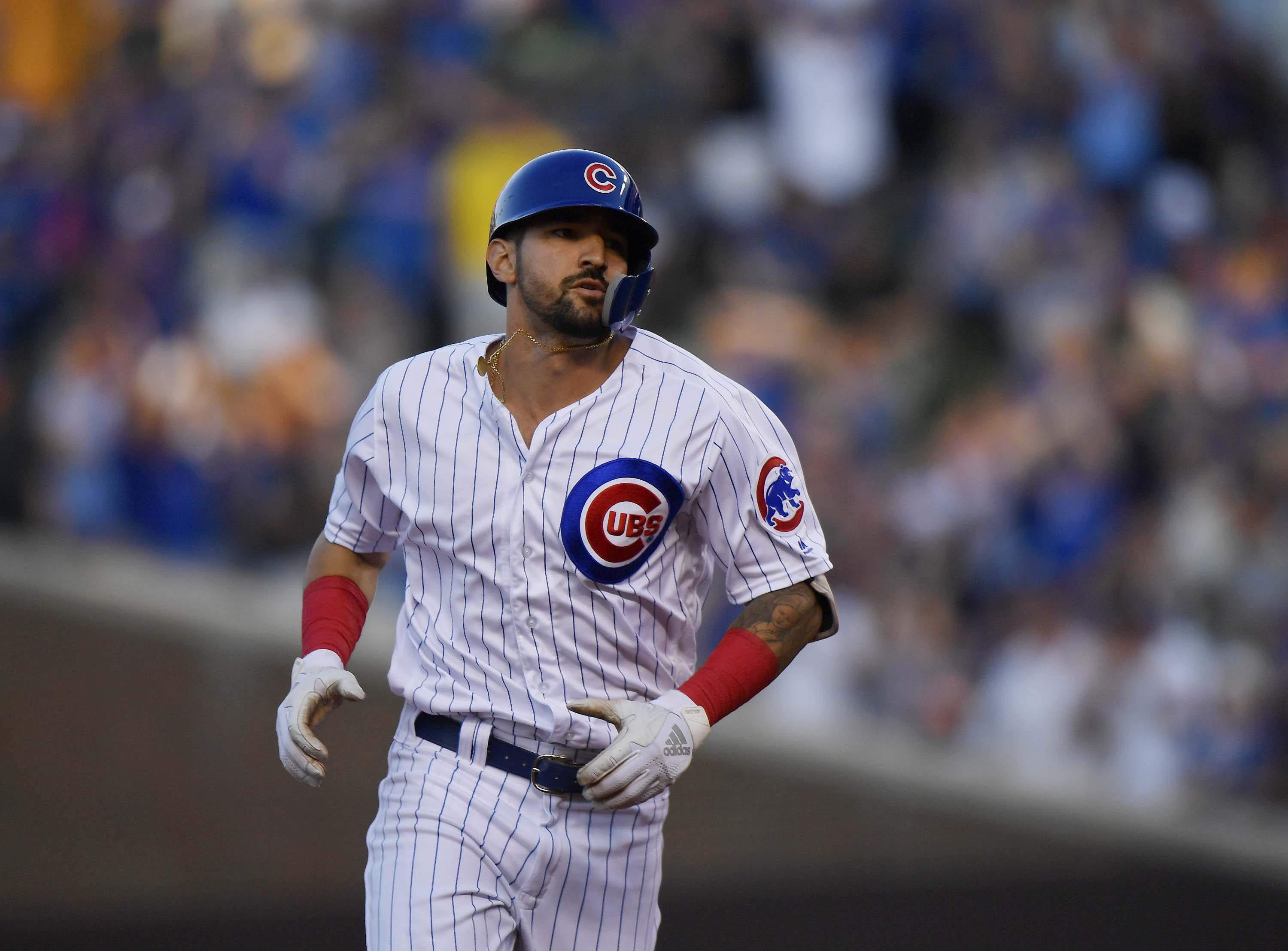 Nicholas Castellanos has six game hitting streak since joining the Chicago Cubs at the trade deadline