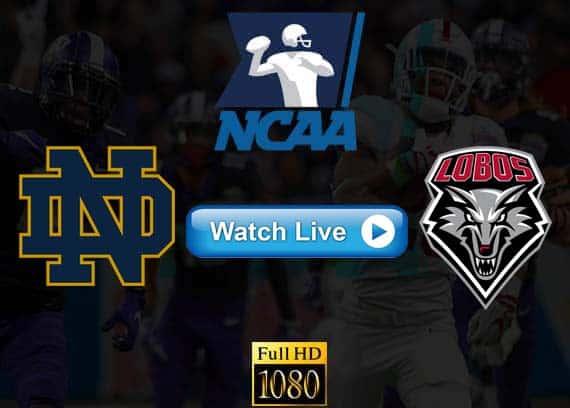 Notre Dame vs New Mexico live streaming reddit