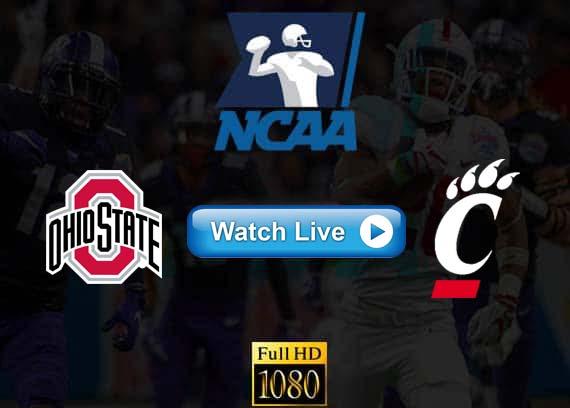 Ohio State vs Cincinnati live streaming reddit
