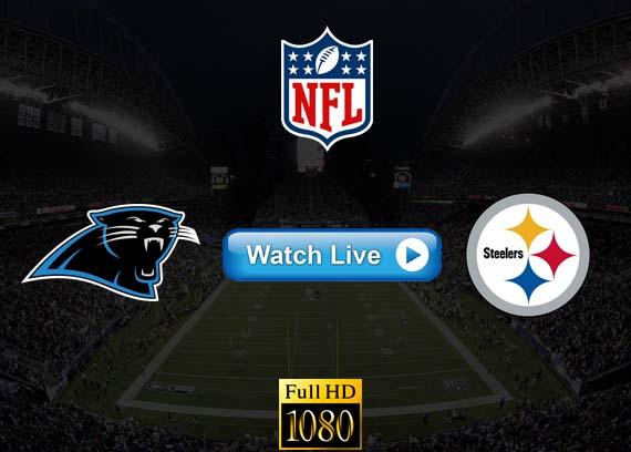 Panthers vs Steelers live streaming reddit