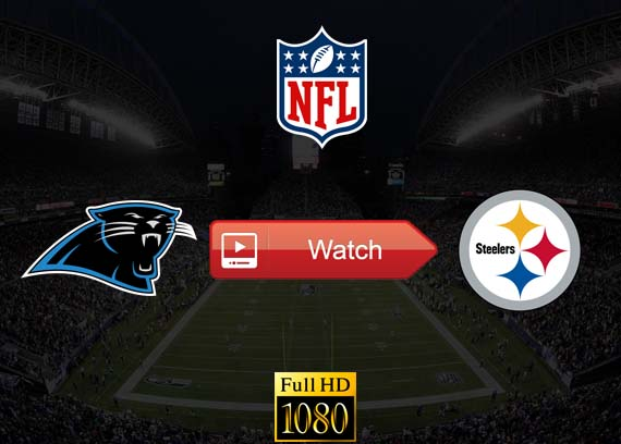 Panthers vs Steelers live stream reddit