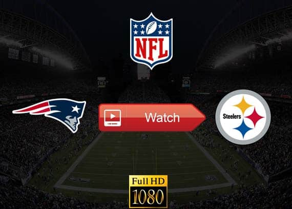 Patriots vs Steelers live stream reddit