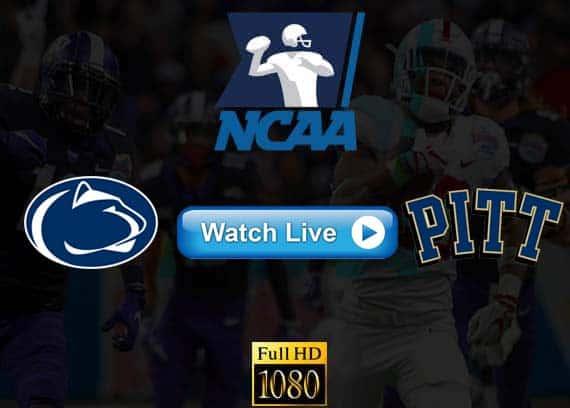 Penn State vs Pittsburgh live streaming reddit