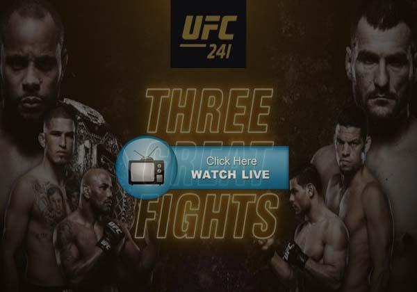 UFC 241 Prelims Live Stream