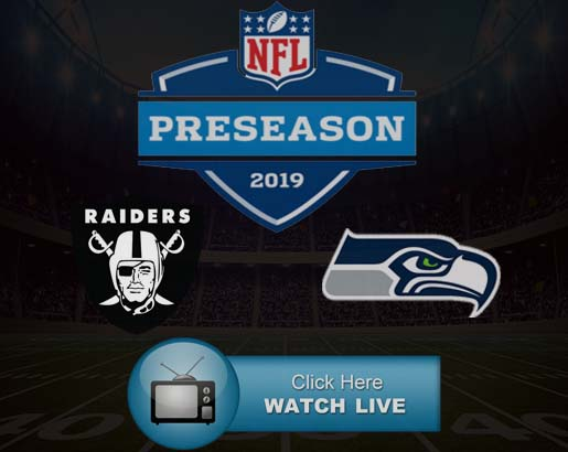 Seahawks vs Raiders Live Stream