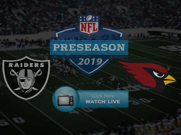 Cardinals vs Raiders Live Stream HD