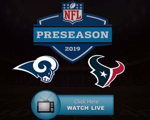 Rams vs Texans Live Stream