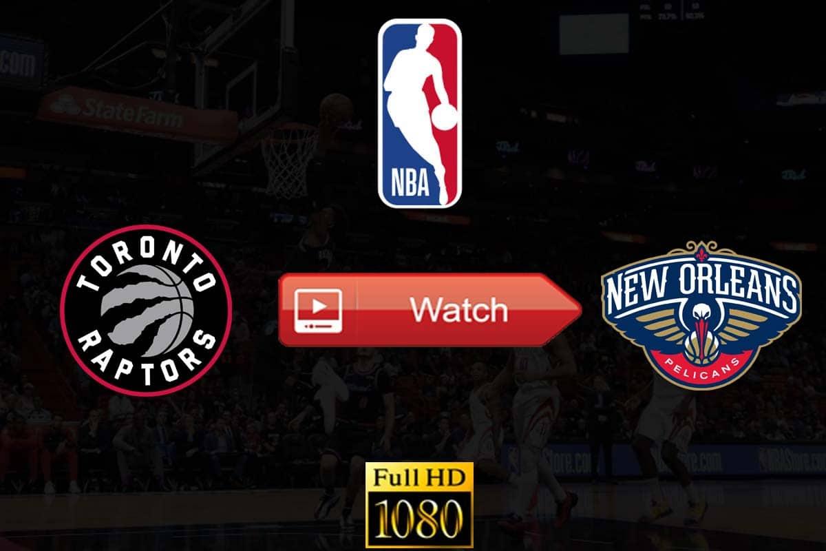 Raptors vs Pelicans live stream reddit