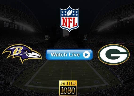 Ravens vs Packers live streaming reddit