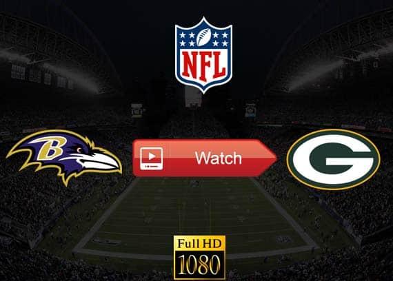 Ravens vs Packers live stream reddit