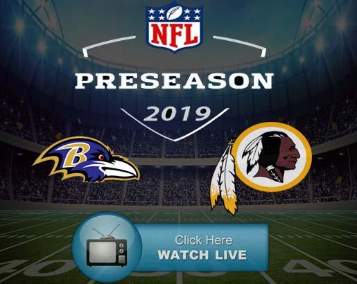 Ravens vs Redskins Live Stream