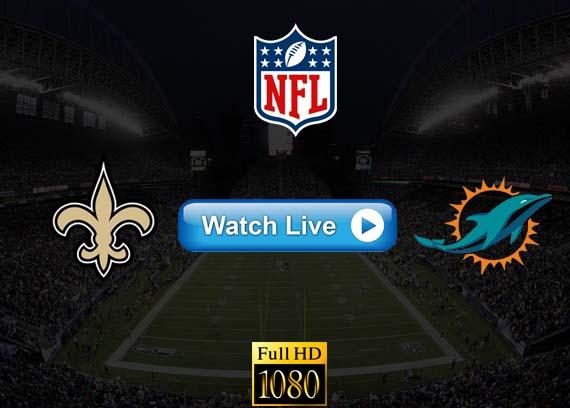 Saints vs Dolphins live streaming reddit