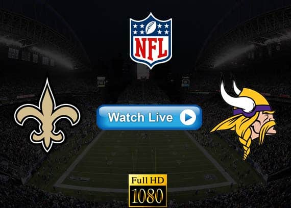 Saints vs Vikings live streaming reddit