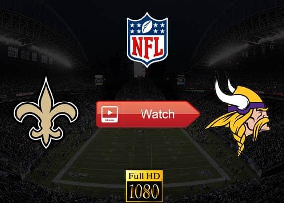 Saints vs Vikings live stream reddit