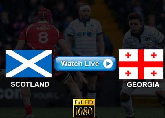 Scotland vs Georgia live streaming reddit