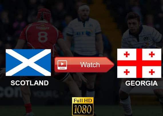 Scotland vs Georgia live stream reddit