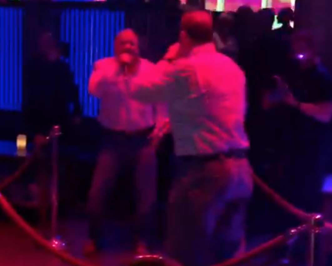 Roger Clemens risks it all singing, doing karaoke to 'Play That Funky Music' (Video)