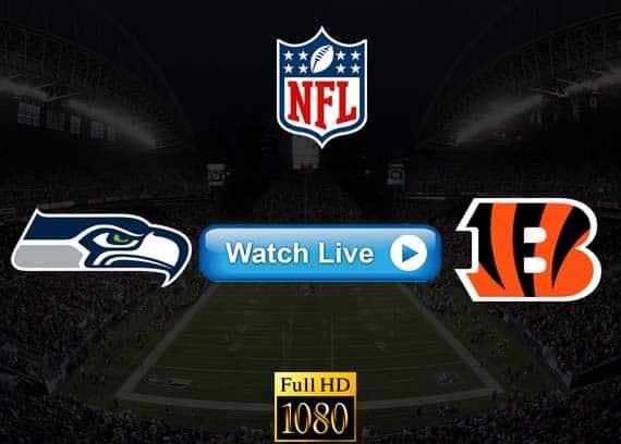 Seahawks vs Bengals live streaming reddit