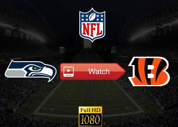 Seahawks vs Bengals live stream reddit