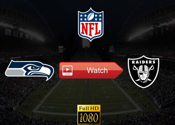 Seahawks vs Raiders live stream reddit