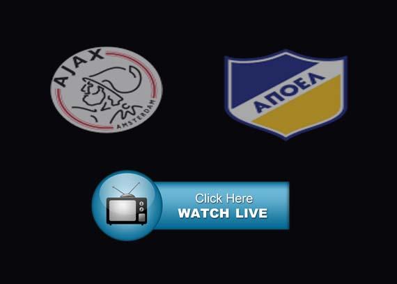 Ajax vs. APOEL Live Stream