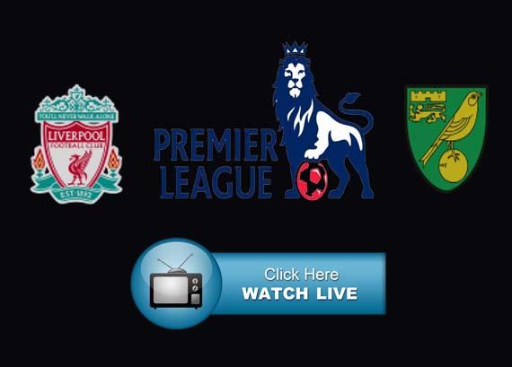 Liverpool vs Norwich City Live Stream