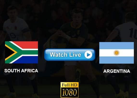 South Africa vs Argentina live streaming reddit